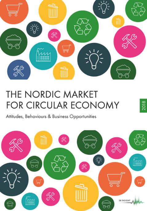 Ny rapport om marknaden för cirkulär ekonomi