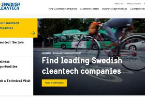 Nylansering av webb ska sälja svensk miljöteknik