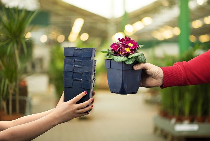 Plantagens pantsystem för krukor belönar kunderna med grönt