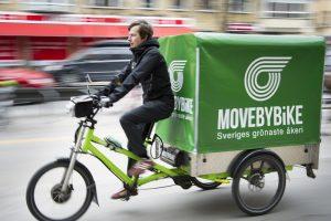 Cyklande serviceföretag ny storstadstrend